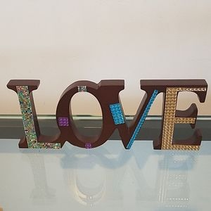 Other - LOVE DECOR BLINGED